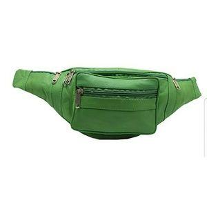Handbags - GREEN FANNY WAIST BUM BAG
